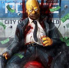 Homer look crazy