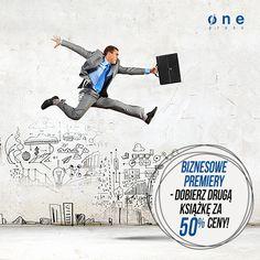 Promocja na Onepress.pl - biznesowe premiery i zestawy z drugą książką za pół ceny!  #onepress #promocja #premiery #ksiazki #biznes #rabaty