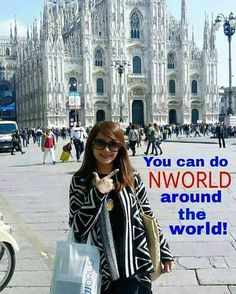 #NWORLD around the #WORLD. Nworld provides high quality and value for money products that you can bring anywhere and it also promotes a business opportunity that you can do anywhere in the globe.  Get upto 25% lifetime discount on all Nworld products. PM me for more information 0922-826-4295 Like my FB fan page: http://ift.tt/1YNbBPl