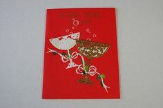 Vintage Unused Happy New Year Card Hallmark by BingusPingusPaper