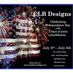 Independence Day Sale. www.calebbrundidge.com Independence Day 3, Flags For Sale, American Pride, Christmas Tree, Holiday Decor, Handmade, Design, Teal Christmas Tree, Hand Made
