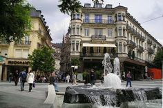 Baden-Baden, Germany (Black Forest) Where my husband's father is from.