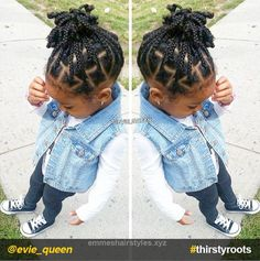 Splendid From pony puffs to decked out cornrow designs to braided styles, natural hairstyles for little girls can be the cutest added bonus to their precious little faces. The post From pony p ..