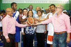 Revista El Cañero: Inauguran Torneo Baloncesto Liga Colegial Romanens...
