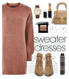 Untitled #243 by sonias1116 on Polyvore featuring polyvore fashion style Topshop Steve Madden Burberry BKE John Lewis Nasty Gal Bobbi Brown Cosmetics clothing