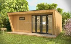 Contour Garden Offices from Oeco