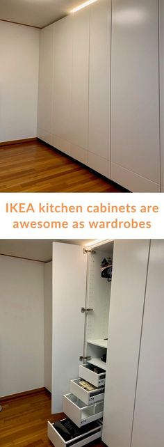 IKEA kitchen cabinets are great as wardrobes. The IKEA METOD . IKEA kitchen cabinets are great as wardrobes. The IKEA METOD / SEKTION kitchen range is fabulous in the bedroom as a wardrobe or storage.
