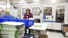 Sinituote siivousvälineet tehdas Lab