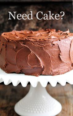 Perfect Chocolate Buttercream Frosting Recipe | Add a Pinch (MRF: halved this recipe and used on Rick's yellow coconut bday cake and it worked out really well)