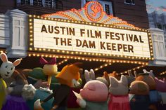 The Dam Keeper is going to the Austin Film Festival in Texas! They are announcing their lineup on Twitter (@austinfilmfest)! The festival is going on from October 23rd to the 30th!  We look forward to hearing their schedule soon, we will share it here when we hear when and where we are playing in Austin!  Check out the festival site here: http://www.austinfilmfestival.com/  This beautiful illustration by Hiro Nagasuna!