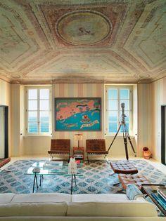 Michael home in Boccadasse Meerwert im Fischerdorf | ARCHITECTURAL DIGEST