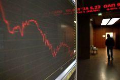 مؤشرات الأسهم في اليونان هبطت عند نهاية جلسة اليوم مؤشر أثينا العام تراجع نحو 0.28% -                     Reuters.  مؤشرات الأسهم في اليونان هبطت عند نهاية جلسة اليوم مؤشر أثينا العام تراجع نحو 0.28%                           #اخبار  الأسهم في اليونان تغلق منخفضة في نهاية تداولات يوم الأربعاء حيث صحبت المؤشرات للأسفل وقد سجلت خسائر في قطاعات المؤسسات العامة البنوك والمصرفية والسياحة والسفر. عند نهاية التداولات في أثينا مؤشر أثينا العام فقد بنسبة 0.28%. من بين الأسهم القيادية اليوم في مؤشر…
