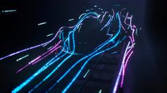 MLF designed, directed and produced the video for McLaren's P1 launch:  long exposure photography light painting animation driven by real-life wind tunnel…