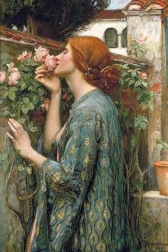The Soul of the Rose Giclee Print by John William Waterhouse at Art.com