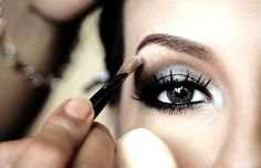 Eyes that have been made-up to perfection will always have my attention...