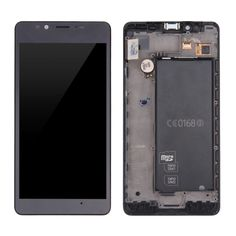 [$129.00] iPartsBuy For Microsoft Lumia 950 LCD Screen + Touch Screen Digitizer Assembly with Frame(Black)