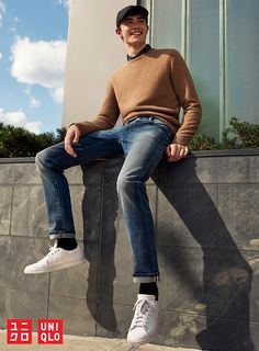 Build your outfit from the bottom up. Our Stretch Selvedge Slim-Fit Jeans are designed with stretch denim for added comfort and ease of movement. Find your stylish foundational piece at uniqlo.com.