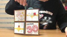 Caixa explosiva, targeta felicitació aniversari
