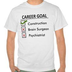 Construction Career Goal