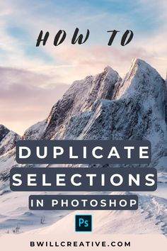 Ever wondered how to duplicate a selection to a new layer in Photoshop? This Photoshop tutorial shares the best ways to copy a selection onto a new layer with the help of keyboard shortcuts and additional tips! #SelectionsInPhotoshop #CopySelection #PhotoshopTutorial #PhotoEditingTips #BeginnerPhotoshop Photoshop Editing Tutorials, Photoshop Tutorial, Photoshop Actions, Photography Tutorials, Photography Tips, Profile Website, Editing Photos, Keyboard Shortcuts, Edit Your Photos