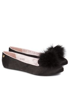 c455959456ddc9 Pom pom slippers - MM Ching  LifeStyldLovely Lounge Outfit