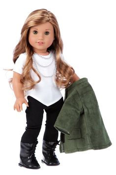 Autumn Stroll - 4 Piece Doll Outfit - American Girl Doll Clothes – Dreamworld Collections