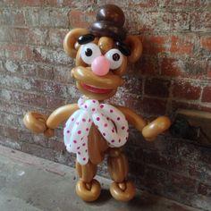 Day 185: Wocka! Wocka! - Fozzie Bear (Jim Henson's #TheMuppets) #BalloonAnimals #MuppetsMostWanted