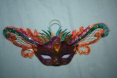 Mardi+Gras+Mask+Ornament+by+SeaForYourself+on+Etsy,+$9.75