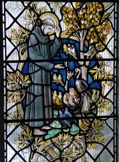 https://flic.kr/p/JE5c4G | St Francis Preaching to the Birds | Leicester's…