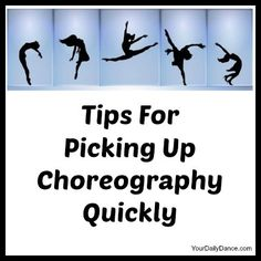 Picking Up Choreography...This is is actually an excellent article.  I will use this in my pole class as it allow me to put 'personality into the pole rountine' and not just panic about the steps.