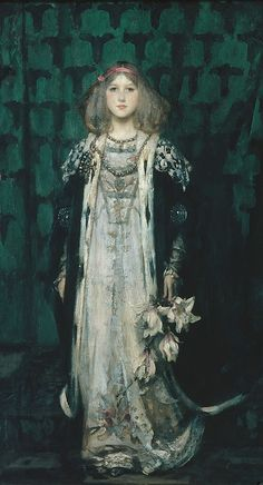 """""""Magnolia"""" by James Jebusa Shannon  (1862–1923), 1899"""
