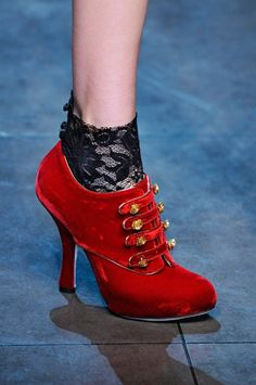 Fall/ Winter 2012-2013 Shoe Trends - Baroque and Rococo Shoes