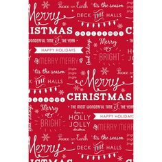 Christmas Expressions Gift Wrap