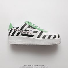 196d7eb5a51d2 Bespoke Fsr Virgil Abloh Designer Independent Brand Super Limited Edition  Off-White X Nike Air Force 1 Low All-Match Sneakers Z