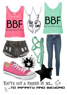 """""""#BFF"""" by daniela-pintea ❤ liked on Polyvore"""