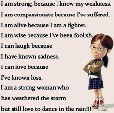 Ya i m strong..