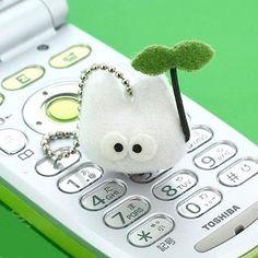 Ghibli My Neighbor Totoro (Tonari No Totoro) Ball Chain Charm Shou-Totoro