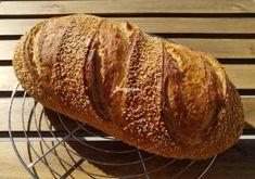 Kovászos kenyér éjjeli hűtős kelesztéssel – Betty hobbi konyhája Bread, Recipes, Food, Brot, Recipies, Essen, Baking, Meals, Breads