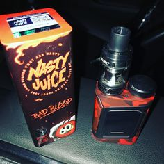 I couldnt resist but getting this bad boy. New with some to test out. Bad Blood, S Mo, Juice, Bottle, Instagram, Flask, Juices, Juicing, Jars