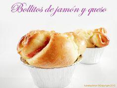 Kanela y Limón: Bollitos de jamón y queso / Paso a paso