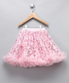Take a look at this Pink Lace Petite Pettiskirt - Girls by Oopsy Daisy Baby on #zulily today!