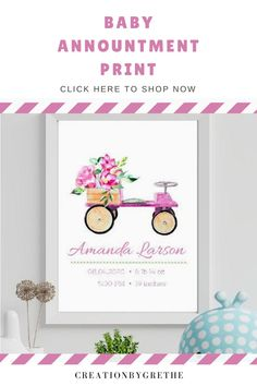 Are you looking for an easy, affordable and convenient way to decorate your child's room then you're in the right place. This baby girl birth stats nursery printable is the perfect piece that will add the finishing touch to your child's room or nursery. Shop it now. #babyannountmentprint #newborngift #nameprint #nurserywallart #birthdetailsprint Playroom Wall Decor, Nursery Decor, Newborn Gifts, Baby Gifts, Playroom Printables, Superhero Wall Art, Personalized Posters, Child's Room, Gifts For Kids