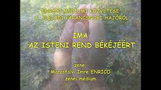 Marosfalvi Imre  Enrico IMA AZ ISTENI REND BÉKÉJÉÉRT Youtube, Movie Posters, Film Poster, Youtubers, Billboard, Film Posters, Youtube Movies