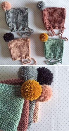 Knitting For Kids, Crochet For Kids, Baby Knitting, Crochet Baby, Knit Crochet, Knitted Baby Clothes, Crochet Clothes, Handmade Baby, Handmade Clothes