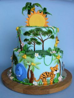 Jungle cake by bubolinkata, via Flickr