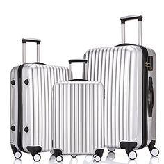 Focheir Travel Luggage Set 3PCS Hardsided Suitcase ABS PC... https://www.amazon.com/dp/B01E6R9PEY/ref=cm_sw_r_pi_dp_4-EHxb0N4SWW5
