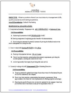 Modal Resume Model Resume For Freshers Mba Model Resumes Download     Perfect Resume Example Resume And Cover Letter