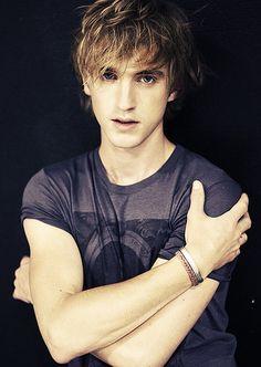 Tom Felton. Aka Draco Malfoy. I am in love.