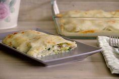 Lasaña de calabacín y champiñones con queso de cabra » Recetas Thermomix | MisThermorecetas