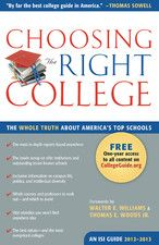 choosing the right college 2012-2013